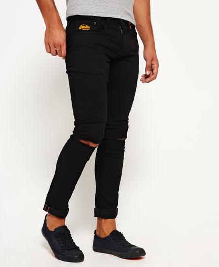 superdry super skinny ripped jeans herren jeans. Black Bedroom Furniture Sets. Home Design Ideas