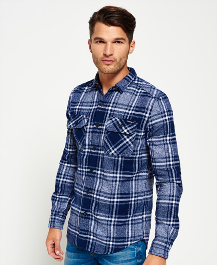 Superdry Milled Flannel skjorte