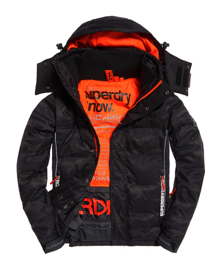 superdry doudoune de ski snow vestes pour homme. Black Bedroom Furniture Sets. Home Design Ideas