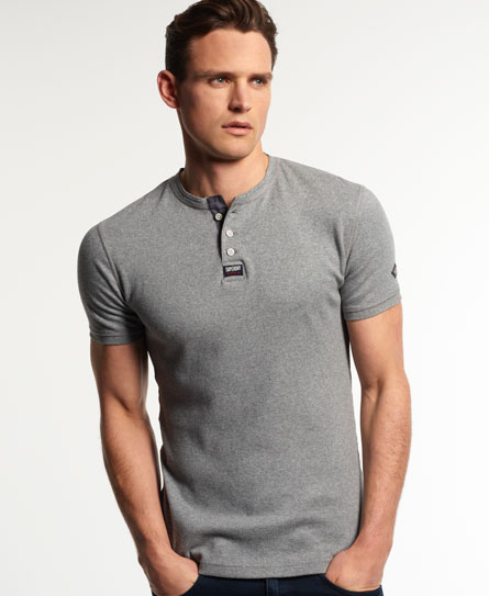 Superdry Heritage Grandad-Shirt