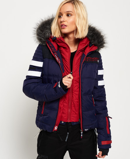 womens ski jackets ski snow clothing superdry. Black Bedroom Furniture Sets. Home Design Ideas