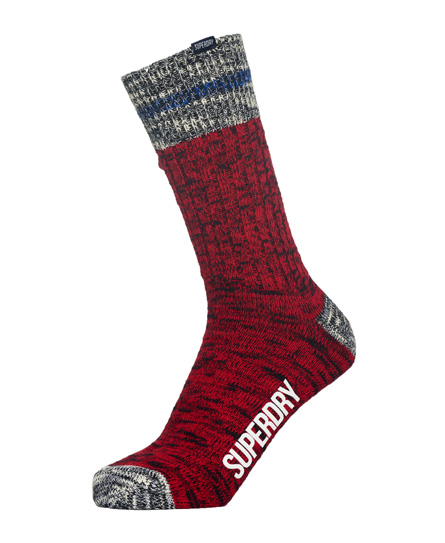 Superdry Big Mountaineer Socks Double Pack