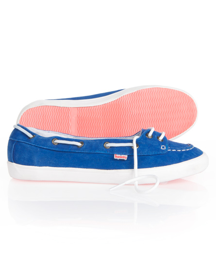 Superdry Boat Shoe Blue