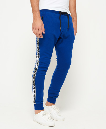 superdry stadium cobalt blue Superdry Stadium Joggers