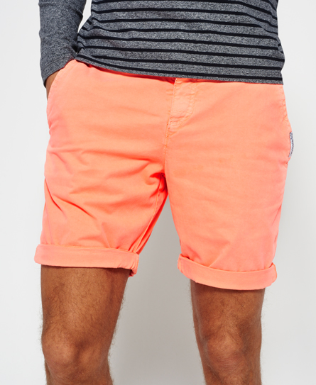 havana orange Superdry International Hyper Pop Chino Shorts