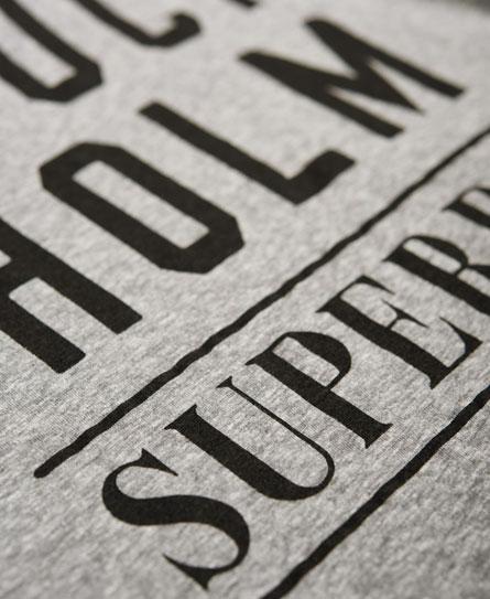Superdry Nordic Graphic Crop Hoodie