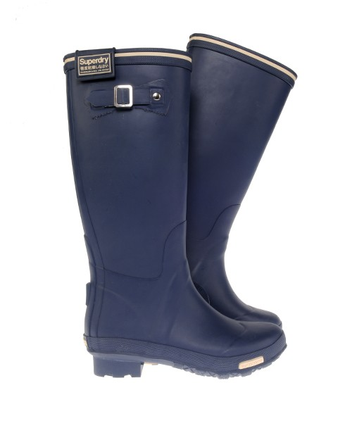 Superdry Festival Wellingtons Navy