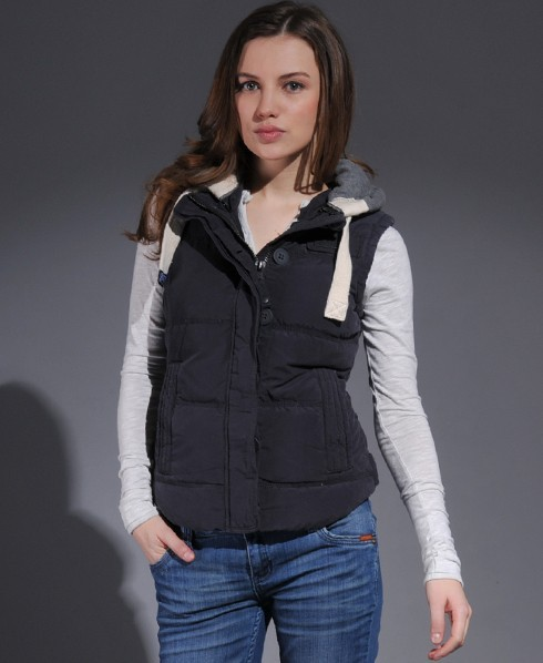 Superdry Academy Gilet Blue