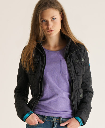 Superdry Quilted Bomber Jacket - Women's Jackets & Coats