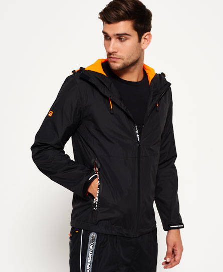 Sports Active Shell Zip Hooded Jacket