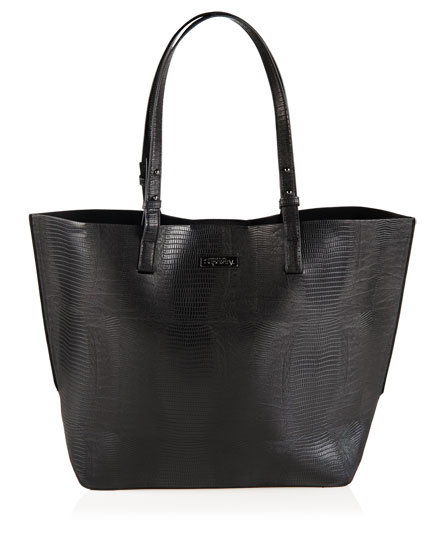 black Superdry Olivia Tote Bag