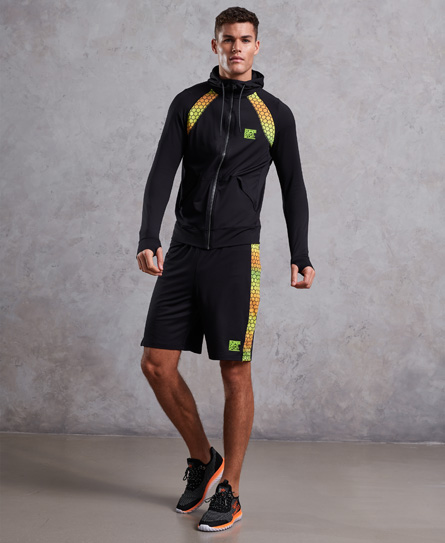 Superdry Training Gradient Zip Hoodie
