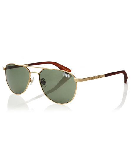 gold Superdry Warrior Sonnenbrille