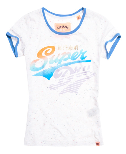Superdry Paradise Stacker Ringer T-Shirt