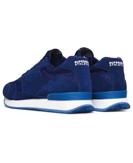 Superdry ATHLETICS TRAINER - Zapatillas blue/white yERKS4ZsS