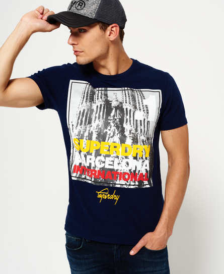 Box Photo City Barcelona T-shirt