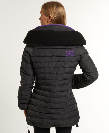Superdry Tall Marl Wind-Climber Coat Womens Jackets