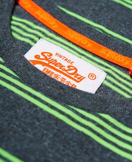 Superdry Orange Label Eddisford Stripe T-Shirt