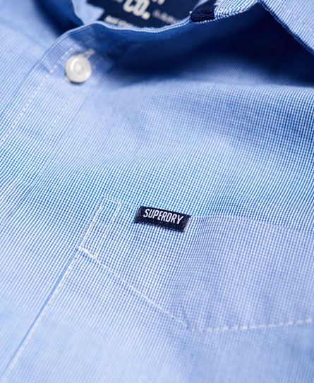 Superdry Skjorte med cut away-krave