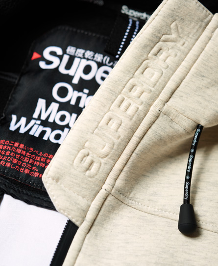 Superdry Mountain Soft SD-Windtrekker Jacke mit Kapuze