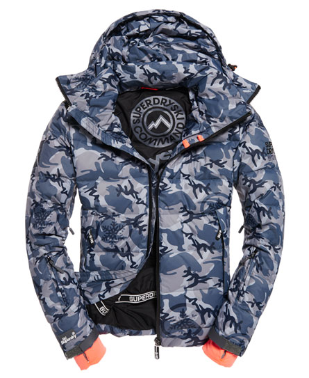 superdry veste capuche ski command utility vestes pour homme. Black Bedroom Furniture Sets. Home Design Ideas
