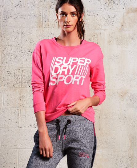 Sale Many Kinds Of Huge Surprise For Sale Superdry SD Sport Lightweight Crew Jumper Buy Cheap Top Quality Sale How Much Cheap Sale Recommend MVzYjo