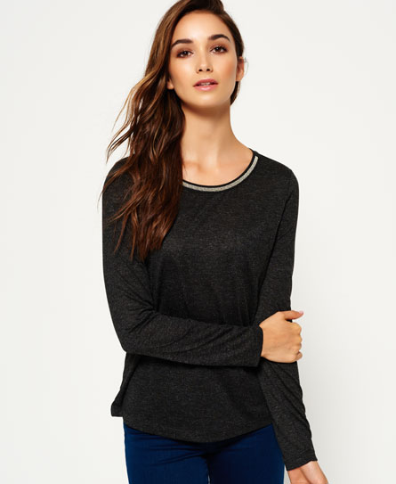 Superdry Superdry Sparkle Trim top