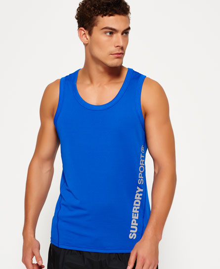 cobalto Superdry Canotta Sports Active Relaxed