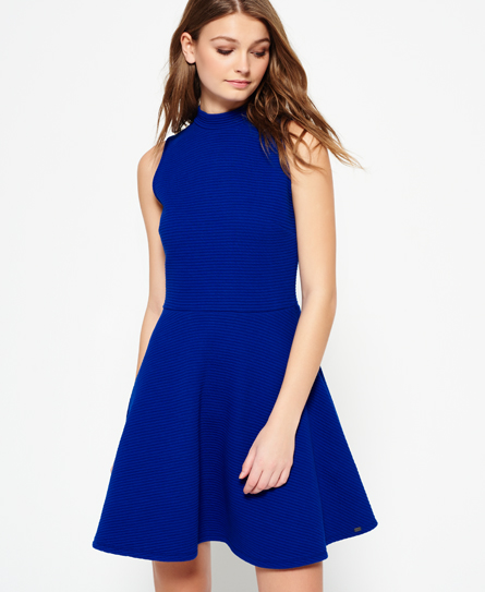atlantic cobalt Superdry Erin Racer Kleid