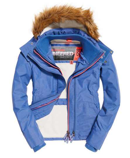 Superdry SD-Wind Attacker Jacke mit Sherpa-Kapuze