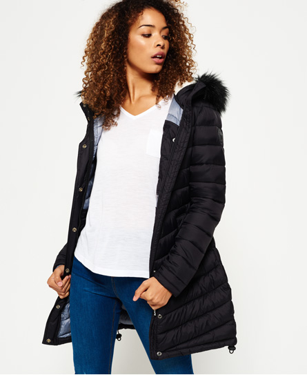 Superdry Chevron Super Fuji Felljacke