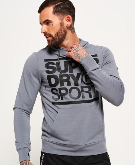 Superdry Gym Training Hoodie zum Überziehen