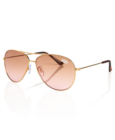 Superdry Sunset Navigator Sunglasses Brown