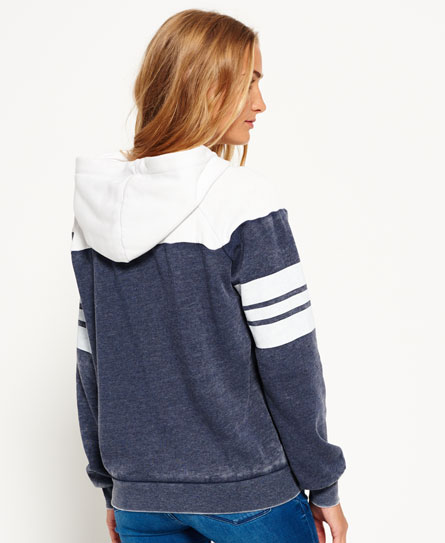Superdry Vintage Colour Block Hoodie