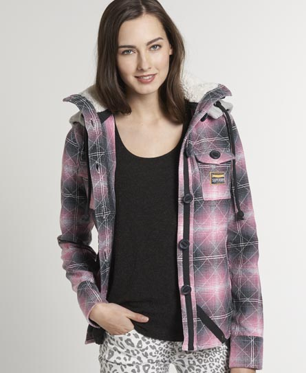 Superdry Super Hackers Shirt Pink