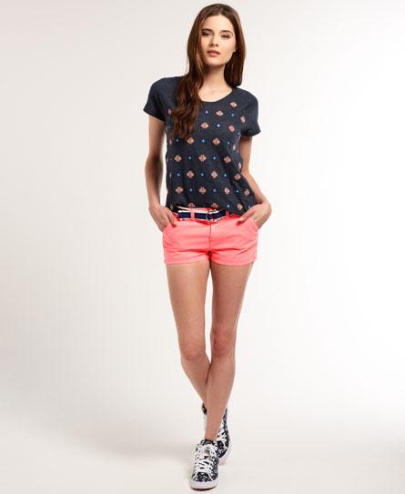 Superdry International Hot Shorts Pink