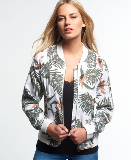 Superdry Lillie Bomber Jacket - Women's Jackets & Coats