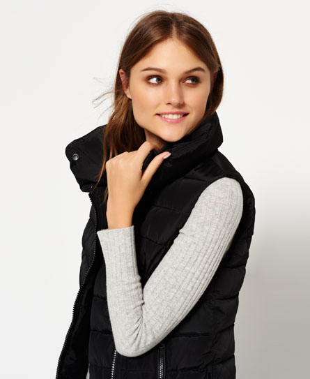 black Superdry Nordic Gilet