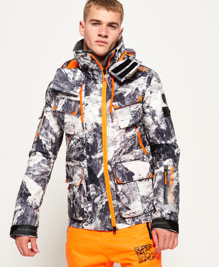 superdry veste ultimate snow service vestes pour homme. Black Bedroom Furniture Sets. Home Design Ideas
