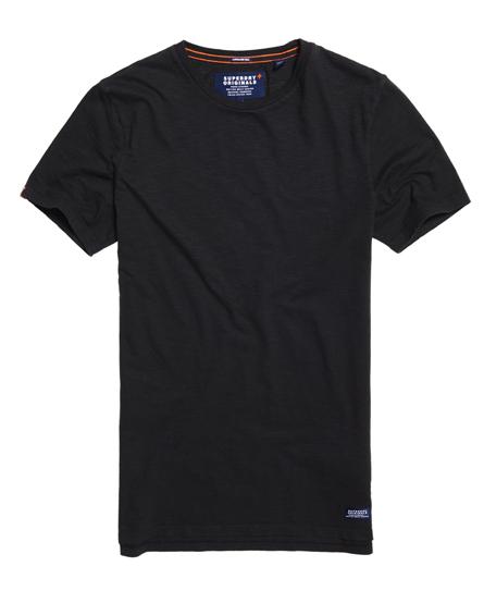 dry black Superdry Originals Longline T-shirt