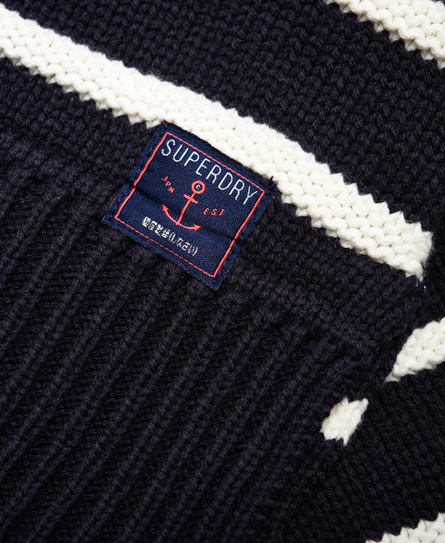 Superdry Marine Stripe Slouch Knit Jumper