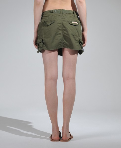 Superdry Core Cargo Mini Skirt Green