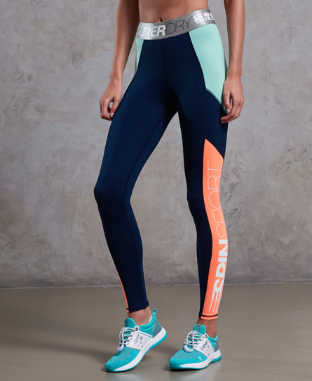 Superdry Spin Long-Run Leggings