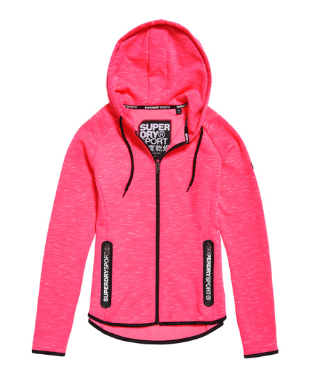 Superdry SD Sport Gym Tech Luxe Zip Hoodie