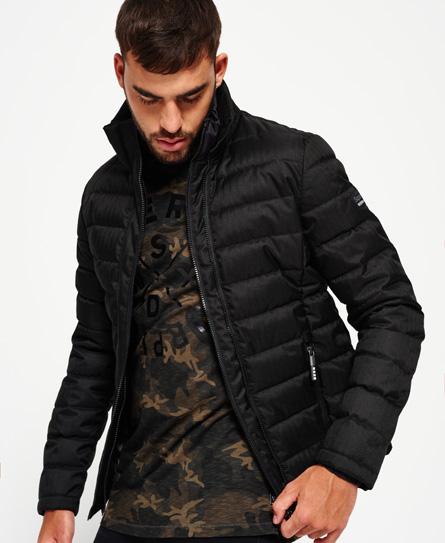 Superdry Double Zip Tweed Fuji Jacket