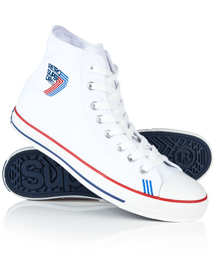 Superdry Zapatillas deportivas Retro Sport High Top Blanco