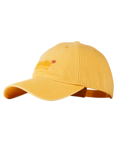 yellow Superdry Orange Label Solo Cap