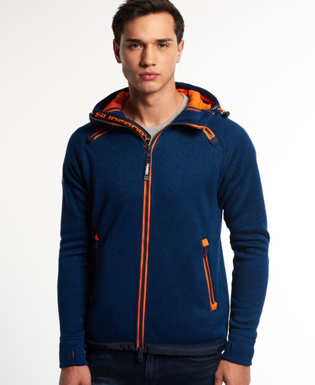 superdry storm double kapuzenjacke herren hoodies. Black Bedroom Furniture Sets. Home Design Ideas