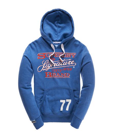 Superdry Signature Hoodie Blue