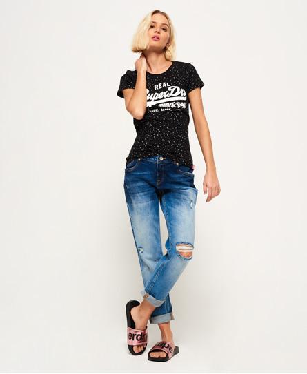Superdry Vintage Logo Star All Over Print T-Shirt